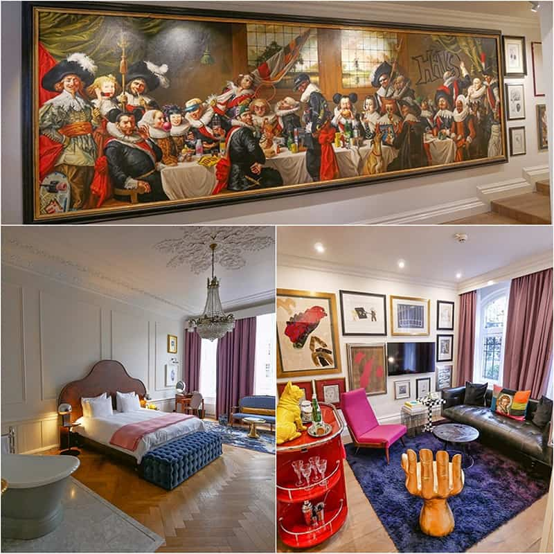 The Art Collector's Suite at Pulitzer Amsterdam, Netherlands