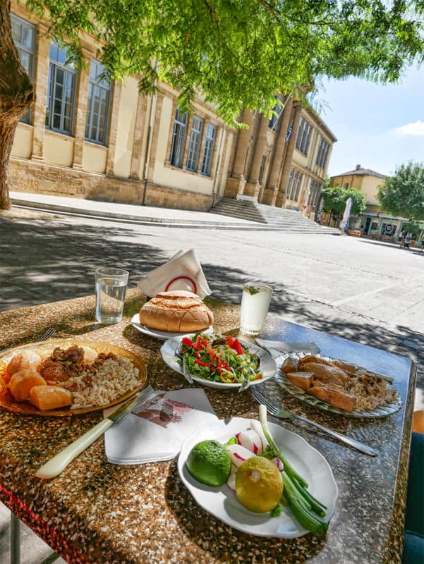 Matheos restaurant, Nicosia. Cyprus