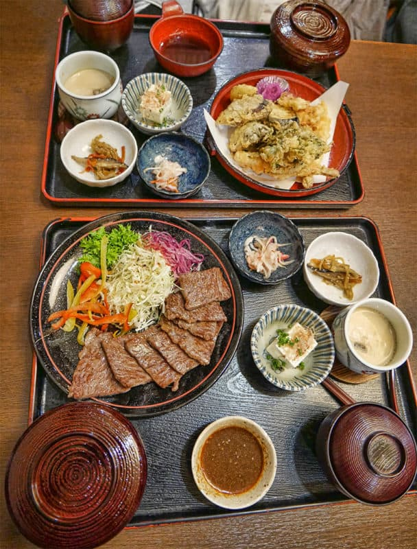 Kajika-an restaurant in Nagayu, Oita region of Japan