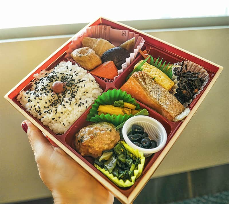 Soraben are takeaway food boxes sold in Japanese airports