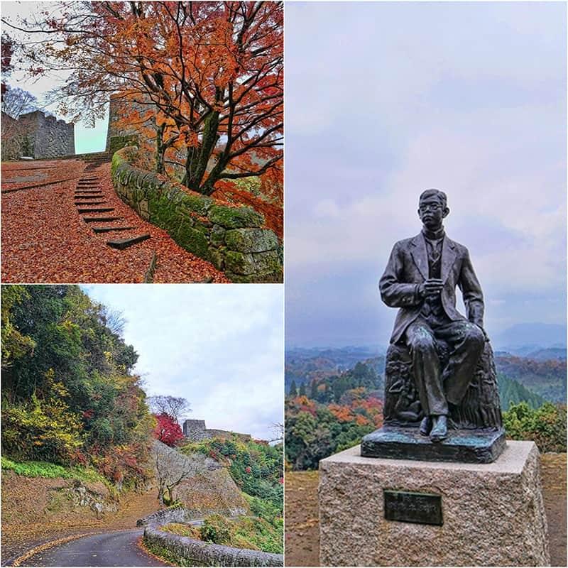 Oka Castle, Oita Prefecture, Japan