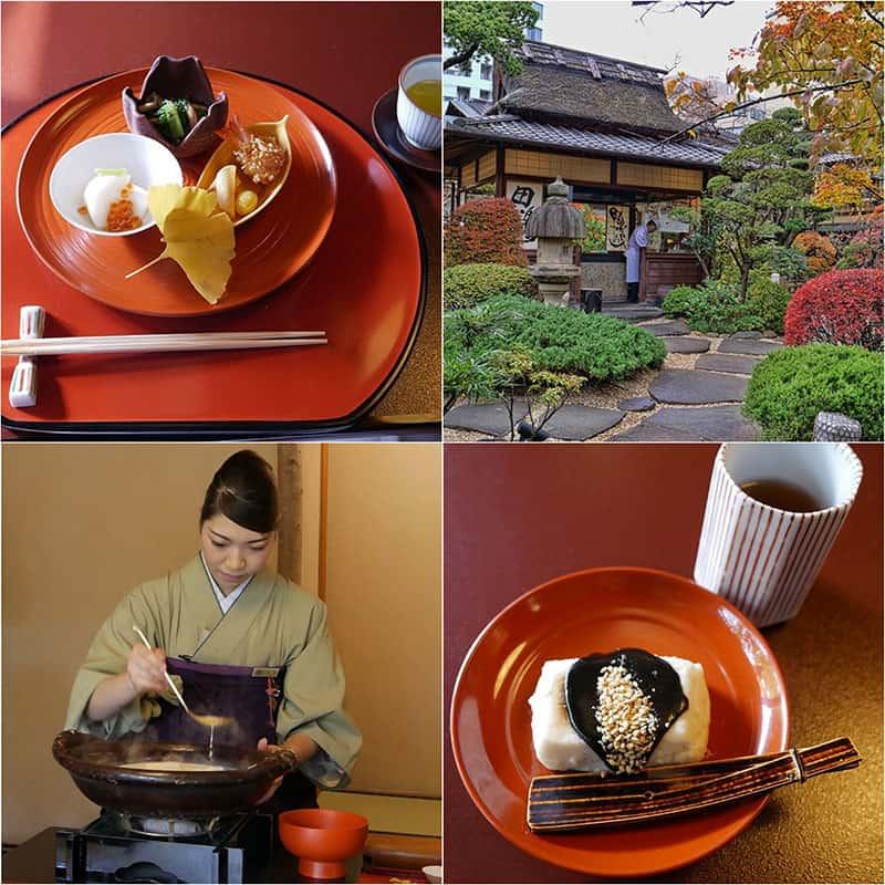 Tofuya Ukai is an amazing tofu restaurant near the Tokyo Tower in Tokyo, Japan