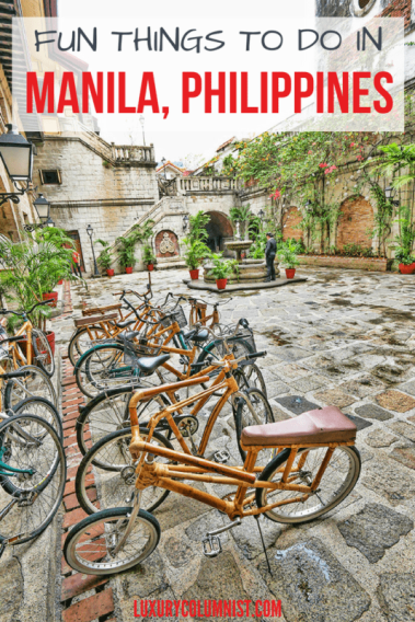 Fun Things to Do in Manila, Philippines | Manila | Philippines | Asia | Travel Tips | Luxurycolumnist | Luxury Travel and Photography Blog