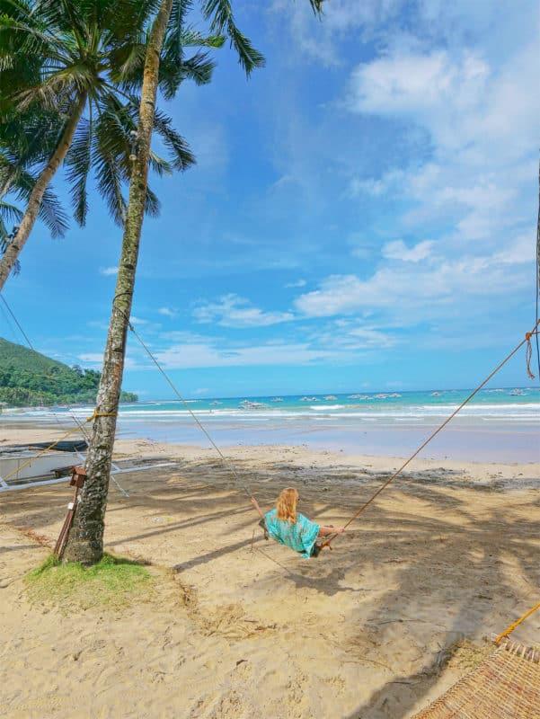 Sabang beach Palawan, Philippiines