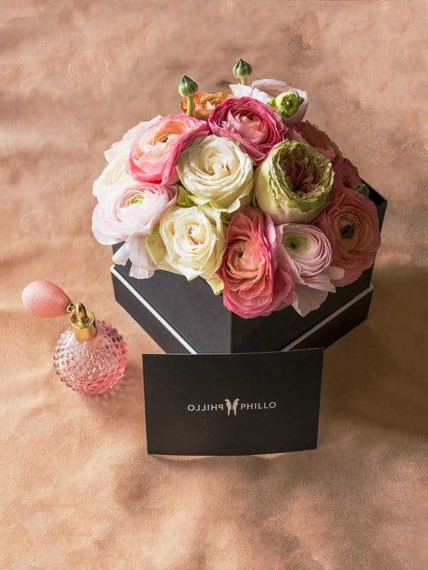 A stunning Valentine's Day gift box by Phillo flowers