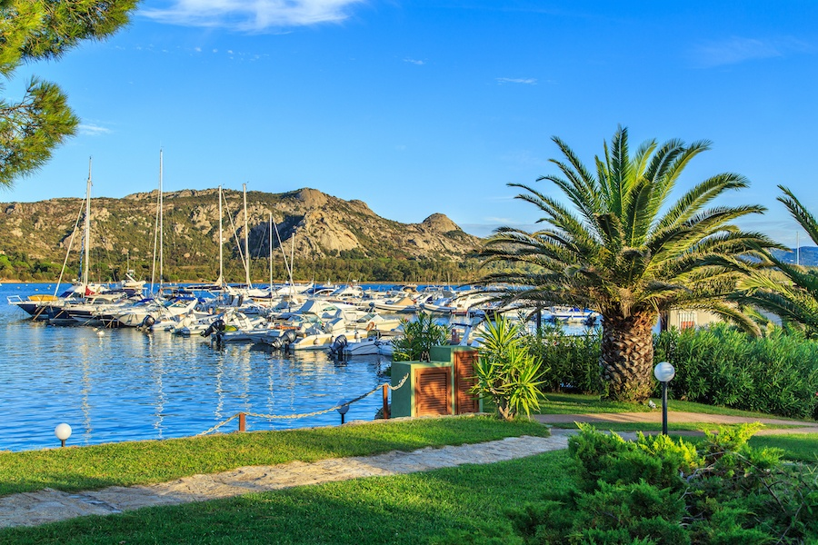 Porto Cervo on Sardinia's Costa Smeralda is known throughout the world for its idyllic climate and prestigious yacht club.