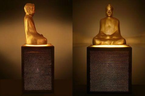 23-Karat Gold Buddha Speaker by TON2