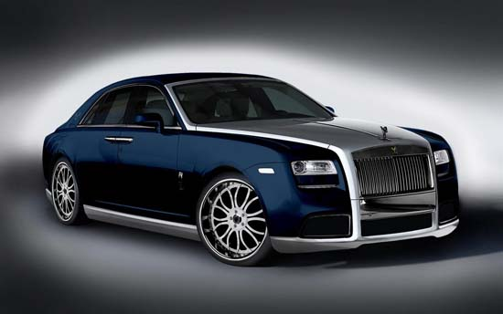 Rolls-Royce Ghost Diva navy