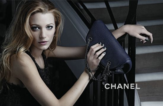 Blake Lively for Chanel Mademoiselle1