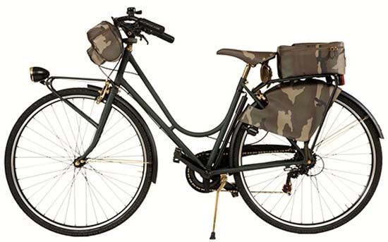 Trussardi Camouflage Bicycle