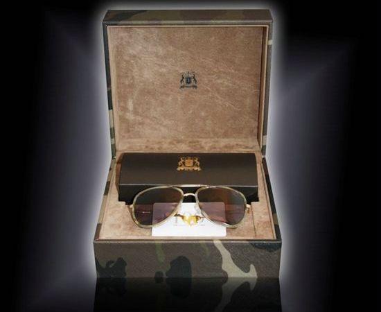 Trussardi 1911 Limited Edition Camouflage Sunglasses