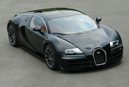 Bugatti Veyron Super Sport 'Sang Noir' Priced At $3.4 Million