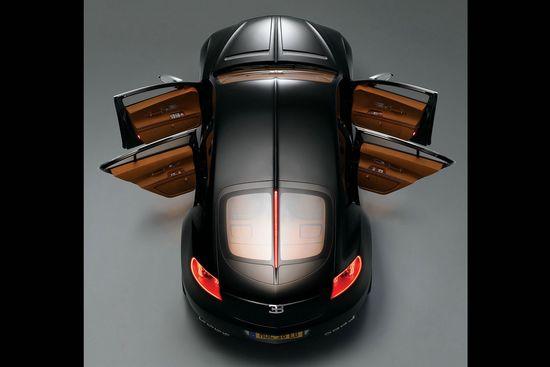 Bugatti 16C Galibier black