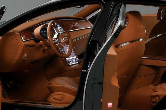 Bugatti 16C Galibier interior