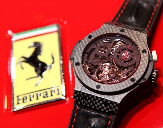 Hublot Big Bang Ferrari Tourbillon