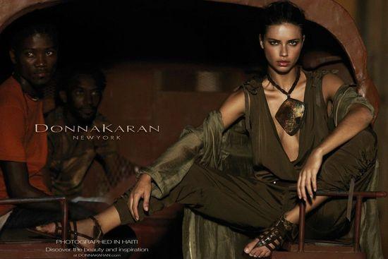 Adriana Lima DKNY