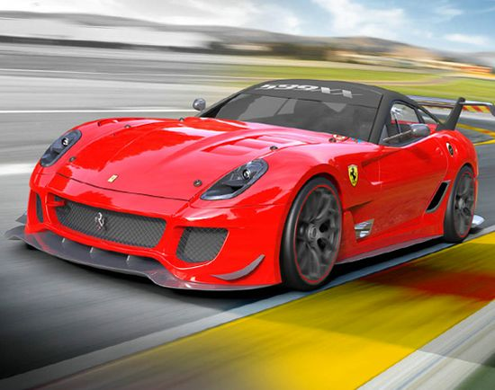 Ferrari 599XX Evoluzione Officially Unveiled