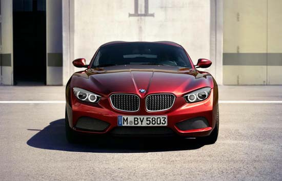 BMW Zagato Coupe front