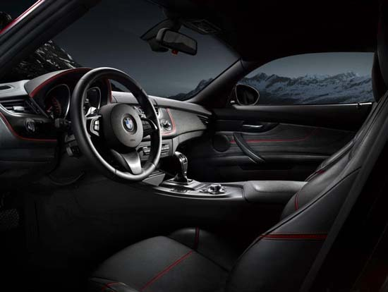 BMW Zagato Coupe interior