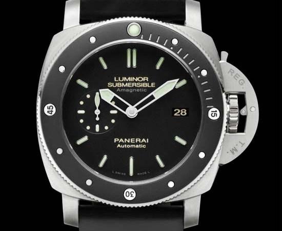 Officine Panerai Luminor Submersible 1950 Amagnetic Titanium