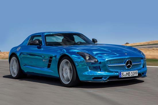 Mercedes SLS AMG Coupe Electric Drive1