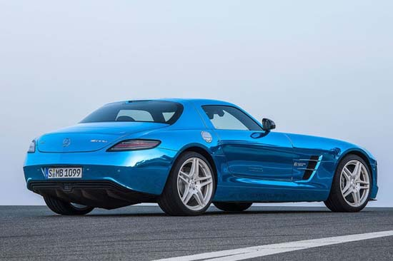Mercedes SLS AMG Coupe Electric Drive4