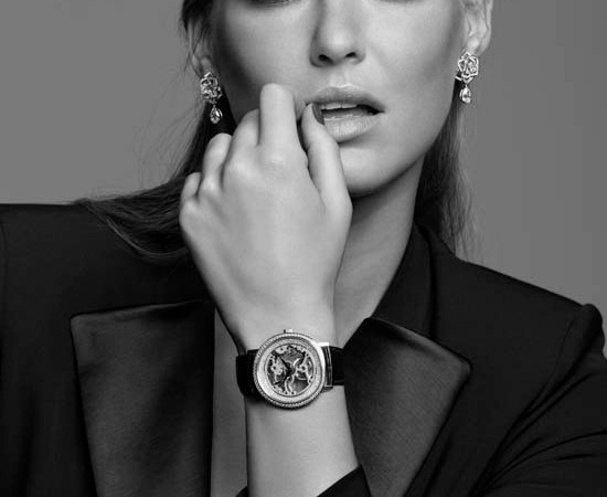 Bar Refaeli for Piaget High Jewellery watches