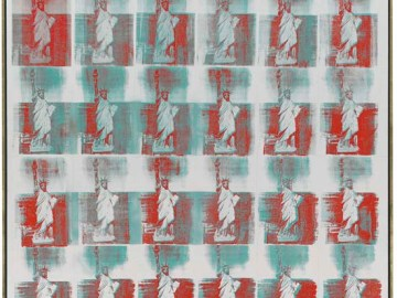 ndy Warhol, Statue of Liberty, 1962