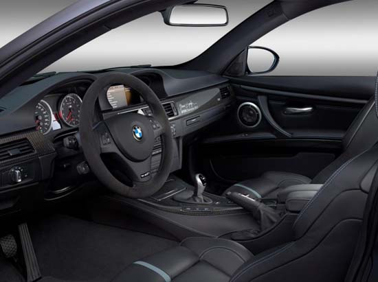 BMW M3 DTM interior