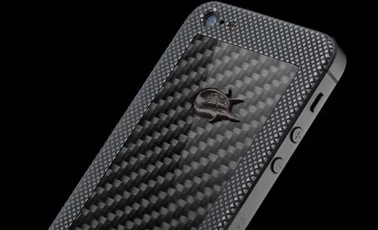 Caviar iPhone 5 Titano Diabolo by Elijah Giacometti