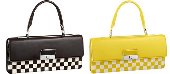 Damier-Mosaic-Enveloppe-East-West-Brown-and-yellow
