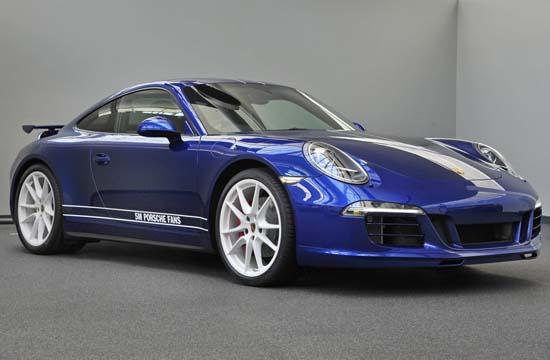 Porsche 911 Carrera 4S 5 Million Facebook Fans Edition