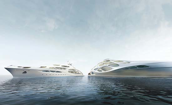Zaha Hadid Designs Superyachts For Blohm + Voss