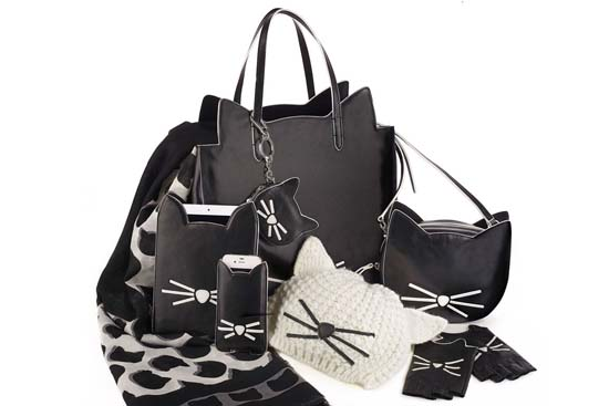 Karl Lagerfeld Launched a Choupette-Inspired Capsule Collection