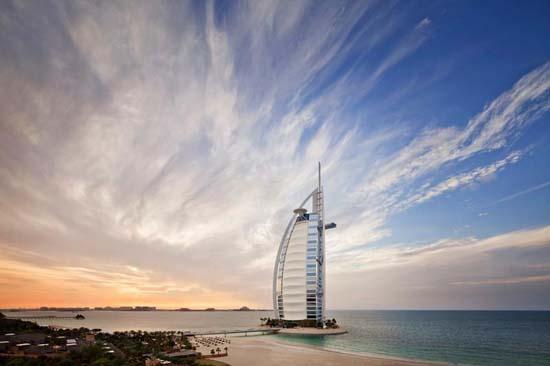 Burj Al Arab, Dubai – Infographic