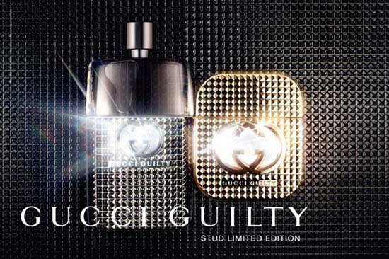 Gucci Guilty Rocks a Limited Edition Studded Bottle