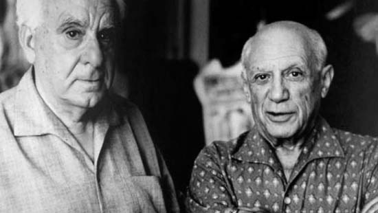 Christian Zervos and Pablo Picasso © David Douglas Duncan.