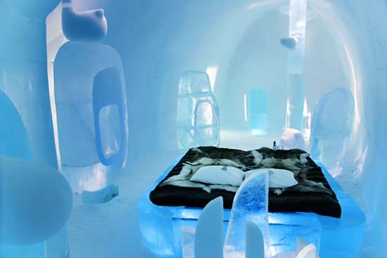 Amazing Deluxe Suite by MINI at The Ice hotel in Sweden