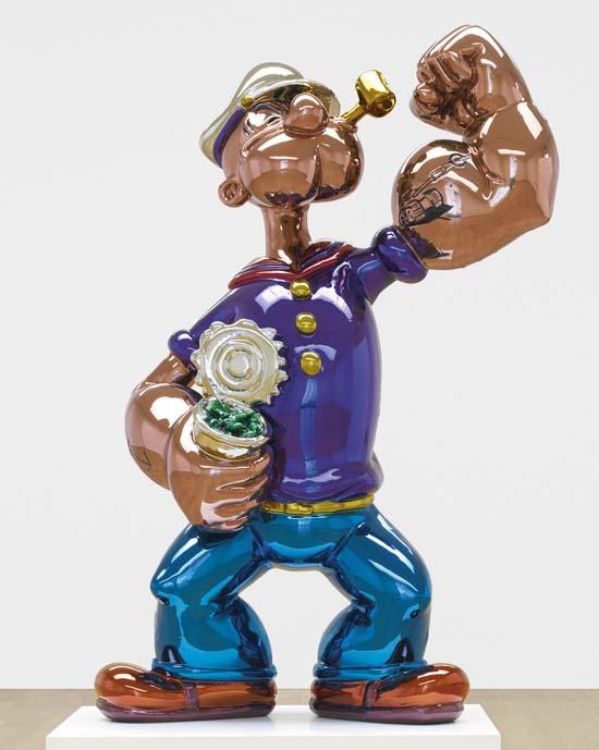Jeff-Koons-Popeye-Sculpture