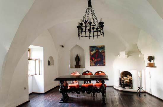 The castellans' room