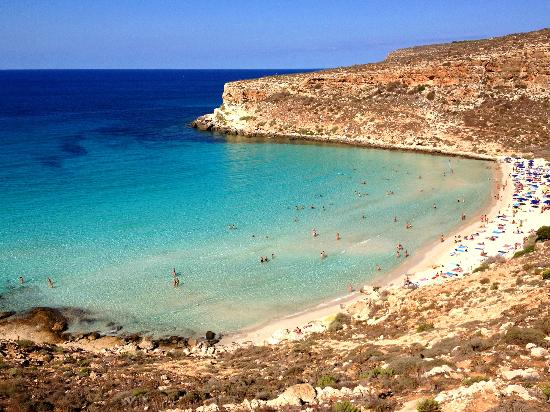 4. Rabbit Beach, Lampedusa, Italy