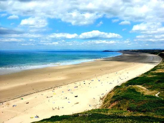 9. Rhossili Bay, Swansea, Wales
