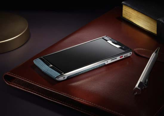 Bentley x Vertu Luxury Smartphones