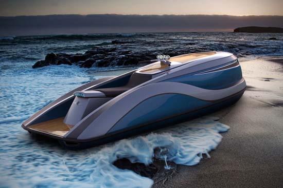 V8 Wet Rod Luxury Jet Ski by Strand Craft