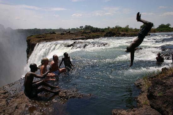 Devil's Pool - Victoria Falls, Zambia