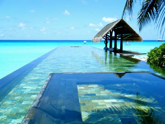 Paradise Pool, The Maldives