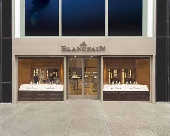 Blancpain Opens New Boutique On 5th Ave in NYC