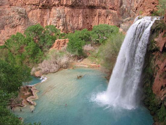Havasu Falls - Supai, Arizona, US