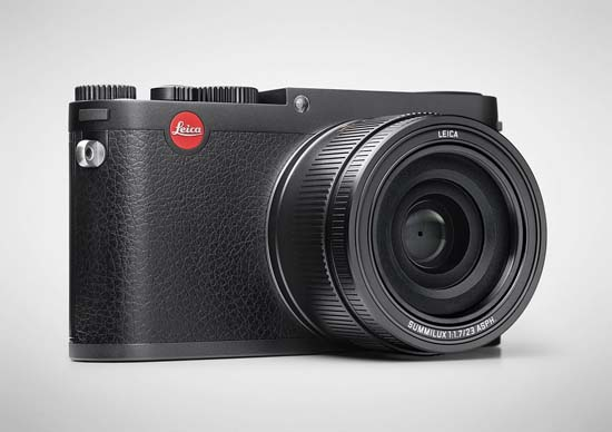 Leica X (Typ 113) Black Anodized