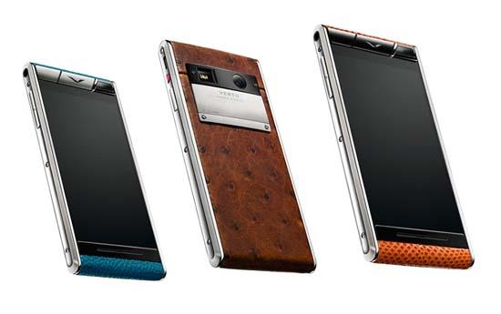 Vertu Aster Luxury Android Smartphone